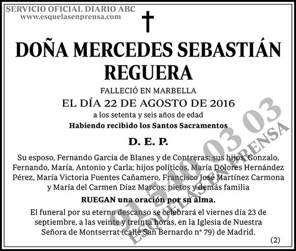 Mercedes Sebastián Reguera